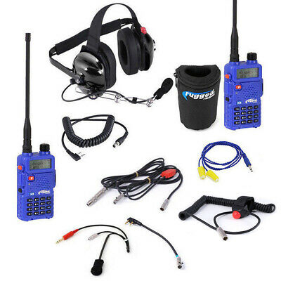 NASCAR Communications Rugged Radios Racing System w / RH-5R Driver to Spotter