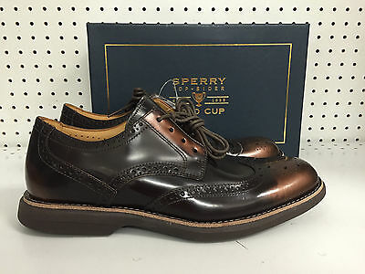 New Men's Sperry Top Sider Gold Cup GC Bellingham WT Bronze Various Sizes Save