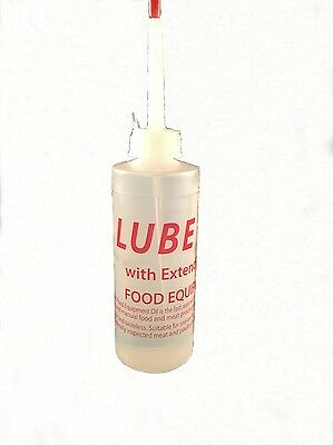Lube Pro Food Equipment Oil - 4 oz w Extended Spout-Slicer & Sewing Machine Oil