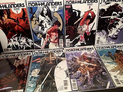 NORTHLANDERS 1-8 2 3 4 5 6 7 1st Print Vertigo Comics Lot Brian Wood 2008 VF/NM