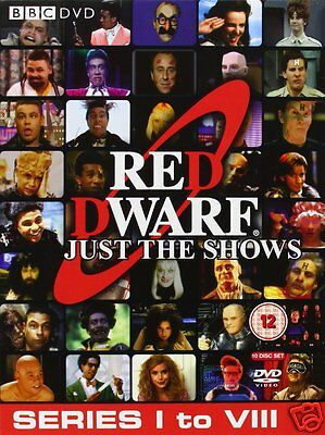 Red Dwarf: Complete Series 1-8 [BBC] (DVD)~~~10 Disc Set~~~BRAND NEW & SEALED