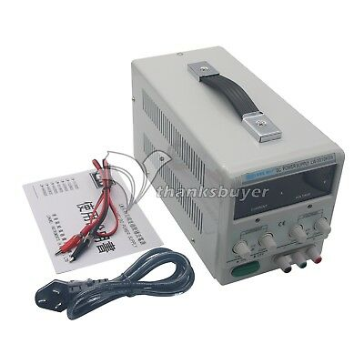 New!!! Adjustable Regulated DC Power Supply Output 30V 10A Variable Dual Display