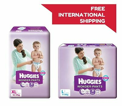 Huggies Wonder Pants Disposable Diapers Size S M L XL XXL Soft Baby Value Pack