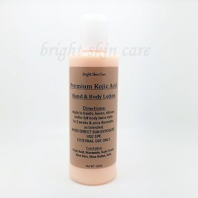 Kojic Acid Strong Niacimide VitC Body Lotion Intensive Bleaching Whitening 120ml