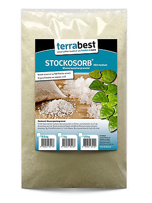 1 kg terrabest  Wasserspeicher Granulat  STOCKOSORB ® 660 medium