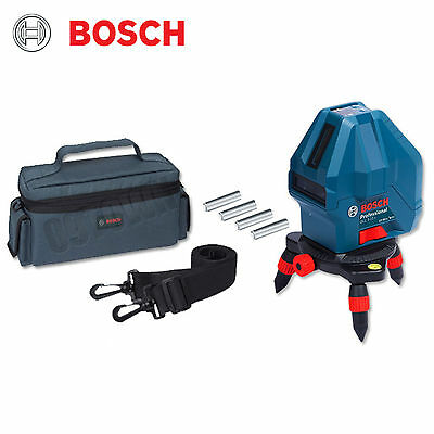 Bosch GLL3-15X Professional 3 Line Laser Level Self-Leveling
