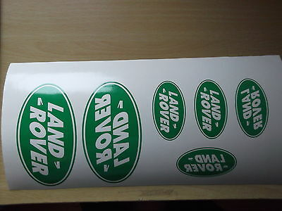 Land Rover  Sticker set Vinyl Decal