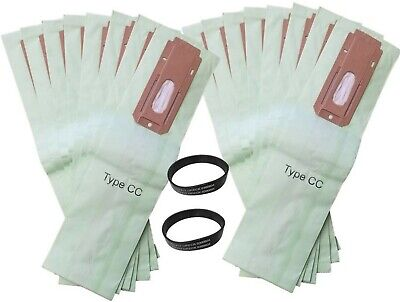 15 Allergy Bags for Oreck XL XL2 XL21 Upright Vacuum Type CC W/ 2 BELTS !!
