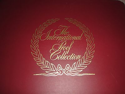 International Proof Collection 5 Countries & Album + Certificate Mint Condition