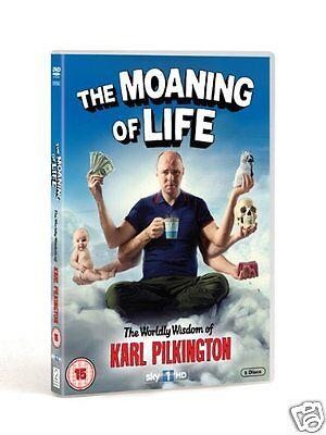 The Moaning of Life - Series 1 [Sky TV] (DVD)~~~~Karl Pilkington~~~~NEW & SEALED