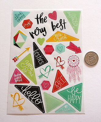 Scrapbooking No 324 - 20 Plus Sayings Stickers - Mixed Pack