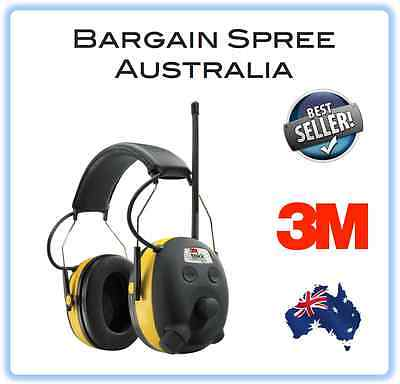 NEW 3M TEKK WorkTunes Hearing Protector MP3 Compatible with AM/FM Radio Earmuff