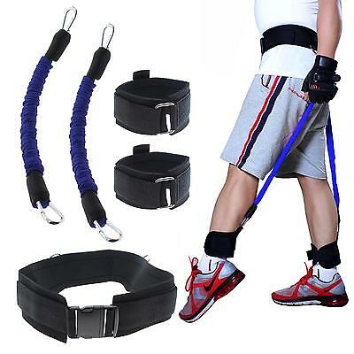 Resistance Band Fitness Bounce Trainer Rope Basketball Football Tennis Pull Rope