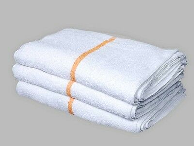 96 BAR MOPS GOLD STRIPE RESTAURANT KITCHEN COMMERCIAL TERRY TOWELS 32oz