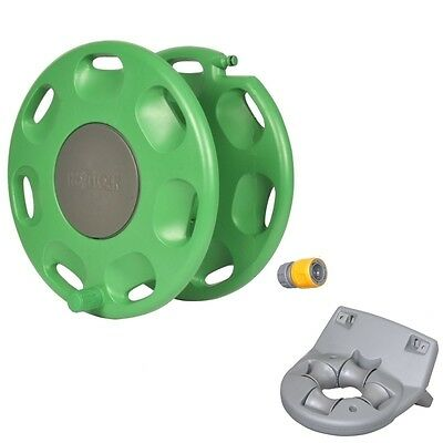 Hozelock 60m Wall Mounted Garden Hose Reel - 2390