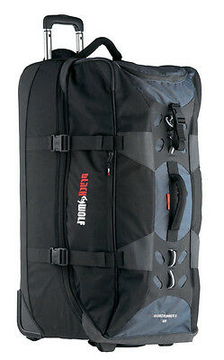 BLACK WOLF GLOBERUNNER 120 LITRE Roller Duffle Trolley Wheeled Bag Luggage