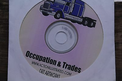 EPS Clip Art Action Illustrated Occupation & Trades 1000+ Vector Images Artwork