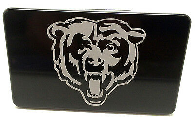 Chicago Bears Head, Billet Aluminum Hitch Cover, 3x5,  Made In USA