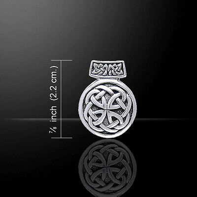 Celtic Knot of Life .925 Sterling Silver Pendant by Peter Stone