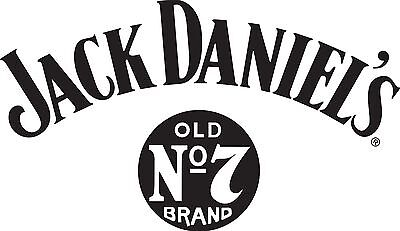 Jack Daniels vinyl cut sticker decal 300mm x 170mm