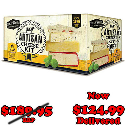 Mad Millie Brand - Artisan Cheese Making Kit @ $139.99 Delivered - 73534
