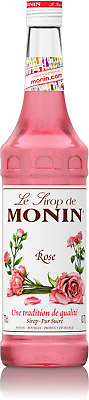 MONIN Rose syrup 700ml Glass