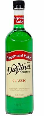 DaVinci Gourmet 750 mL Peppermint Paddy Classic Syrup