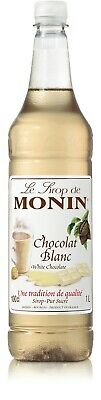 Monin White Chocolate Syrup 1 Lt