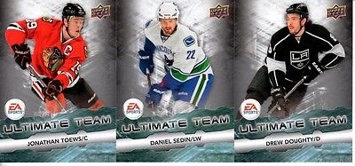 2011-12 Upper Deck EA Sports Ultimate Team Pick your card complete your set LOT