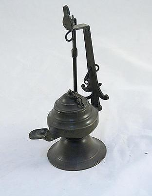 Iraq Antique Bronze Oil Lamp from the 19 Century