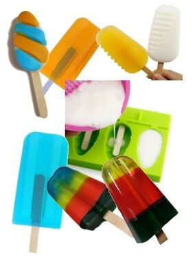 DIY SOAP POPSICLE KIT: Melt and Pour Soap Making easy, Sudsy Pop, Natural, Easy
