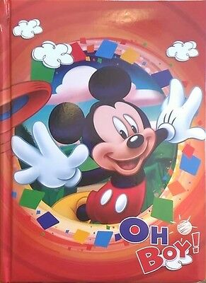 Diario Disney Mickey Mouse - Oh Boy!