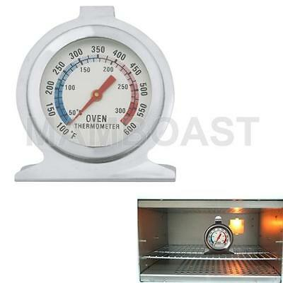 High Quality Stainless Steel Stand Up Oven Thermometer Gauge Gage (Silver)