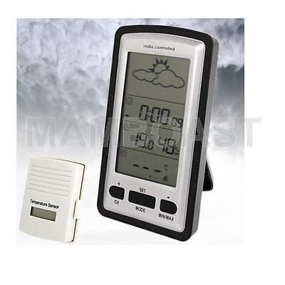 Professional Wireless Weather Station Thermometer Clock