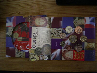 2002  GB UK Brilliant Uncirculated Coin Year Set Royal Mint