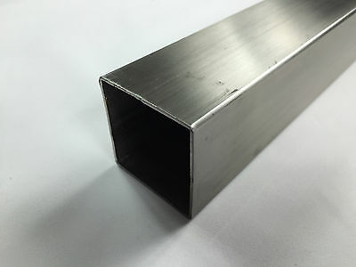 Stainless Steel Square Brushed Tube