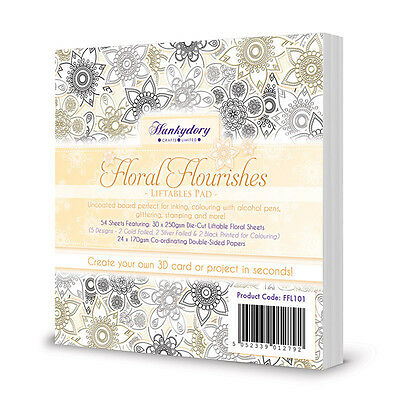Hunkydory - Liftables - Floral Flourishes