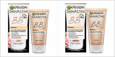 GARNIER Miracle Skin Perfector Daily All in One BB Cream SPF 15 , FREE DELIVERY