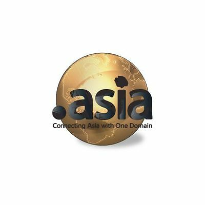 .ASIA gTLD =  6 DOMINI WEB / WEB DOMAINS + 18 EMAIL + 1 ANNO  HOSTING