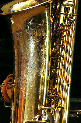 Make Offer! The Martin Tenor Sax - 1923 - Gold Plated - Overhauled - Sweet Horn!