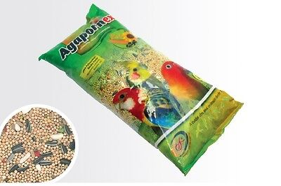 Pet Bird Complete Mix Diet Seeds Food for Agapornis Lovebird - 1 KG