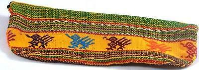 Yellow Cotton Pencil Case Made In Guatemala Fair Trade Childrens Toy Gift