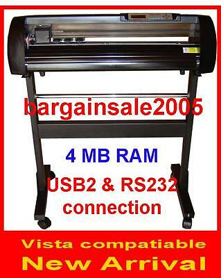Rabbit HX-720 VINYL CUTTER PLOTTER 4MB 240V AU Standard WINDOW 10/8/7