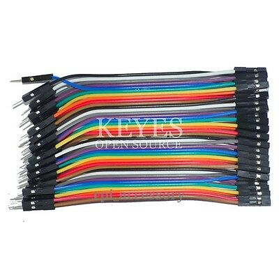 40P Male to Female M/F Dupont Wire Ribbon Cable for Raspberry Pi Breadboard 10CM