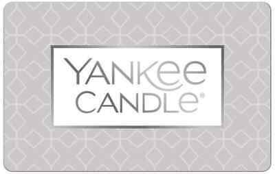 Yankee Candle Gift Card - $25 $50 or $100 - Email delivery