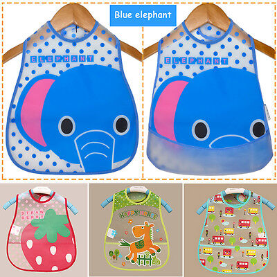 Animal Saliva Niños Infantil Bebé Burp Cloth Baberos Impermeable De Saliva