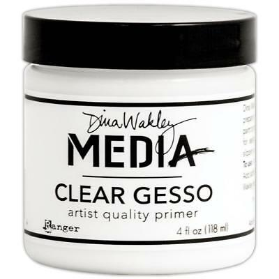 Dina Wakley Gesso - Clear 118ml (4oz)