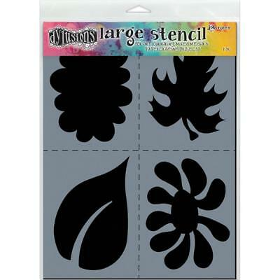 Dylusions Stencils and Masks - Large 9x12 - Nature
