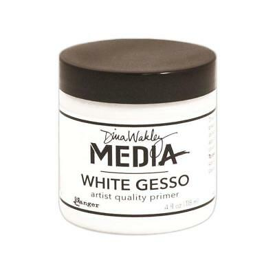 Dina Wakley Gesso - White 118ml (4oz)