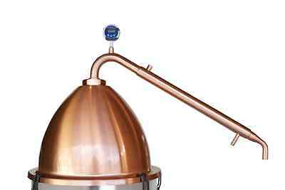 PRO KIT COPPER ALEMBIC POT with CONDENSER Still Spirits set how to make